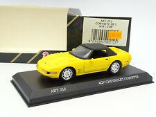 Detail Cars 1/43 - Chevrolet Corvette ZR1 Yellow Soft Top