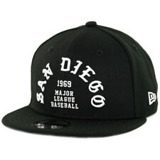 "New Era 950 San Diego Padres ""Team Deluxe II"" Snapback Hat (Black) Men's MLB Cap"
