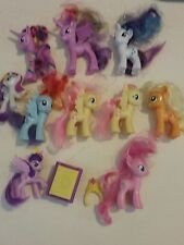 my little pony lot.  10 random  little  pony's