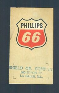 Vintage Phillips 66 Shield Oil Company LA SALLE Illinois Give Away Sewing Kit