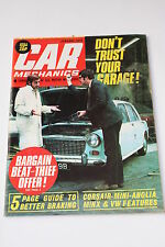 Car Mechanics January 1973, Rolls Royce 20/25/Ford V4 Engine/VW Beetle Exaust