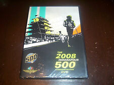 THE 2008 INDIANAPOLIS 500 COMMEMORATIVE  Nascar Racing Race Drivers DVD NEW