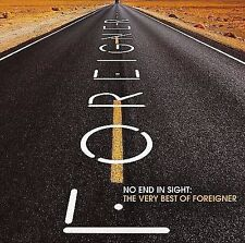 No End in Sight: The Very Best of Foreigner by Foreigner (CD, Jul-2008, 2 Discs)