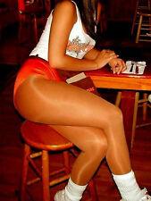 D Suntan Sheer Pantyhose Sexy Holiday Lingerie Tights Uniform Hooters Peavey HOT