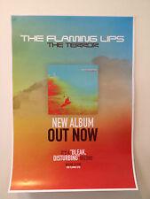 FLAMING LIPS The Terror Album PROMO POSTER Yoshimi Battles Soft Bulletin A2 *NEW