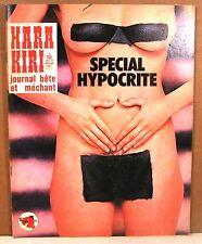 mensuel hara kiri n° 136 janvier 1973  journal bête et méchant Choron-Reiser..