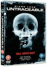 Untraceable [DVD] Diane Lane Movie Scary Horror Gift Idea NEW