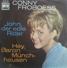 """7"""" 1964 RARE MINT-! CONNY FROBOESS John der edle Ritter"""