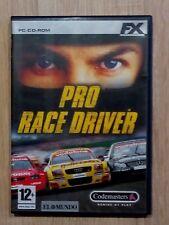 PRO RACE DRIVER PC CD ROM CODEMASTERS. VERSIÓN ESPAÑOLA
