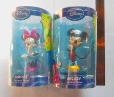 lot de 2 figurines figure mickey et minnie 12,5 cm neuves figurine disney