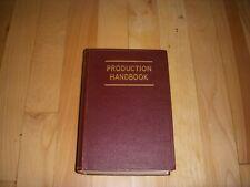 Vintage Production Handback Alford Bangs Ronald Books