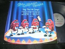 Fun Novelty Lp The California Raisins Sing Soul with Buddy Miles 1987 Priority
