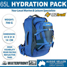 OZtrail 65L Quest Backpack Camping Hiking Travel Waterproof Rucksack Luggage