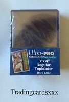 "♦Pokémon/Yu-Gi-Oh!♦ 25 Protèges Cartes Rigide Ultra PRO ""REGULAR"" Toploader"