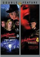 NIGHTMARE ON ELM STREET 3/NIGHTMARE ON ELM STREET 4 (DVD, 2014) NEW