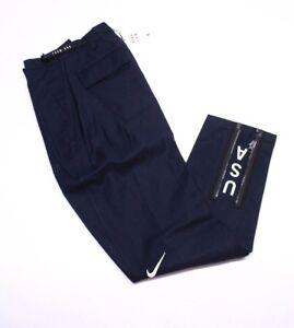 Nike NikeLab Women's Team USA Sport Activity Pants, Size M, 916684 475, Org $260