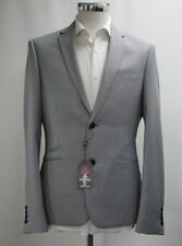 Men's Harry Brown Blue Microchecked 2pc Tailored Fit Suit (40R)..Sample 4307