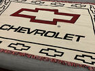 Chevrolet Chevy muscle car Woven tapestry throw blanket 46x73