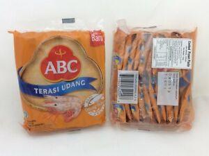 TERASI UDANG ABC (INDONESIAN SHRIMP PASTE) - 40 SACHETS @4.2 GRAM (2 PACKS)