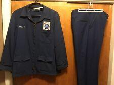 PABST BLUE RIBBON PBR MILWAUKEE BEER VINTAGE RARE 70s Delivery Work Uniform SET