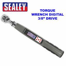 "Sealey STW308 3/8"" Sq digital electrónico dinamométrica 8NM-85NM 5.9-62.7lb.FT"