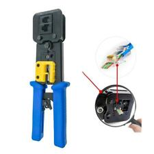 EZ RJ45 Crimper Tools for cat5 cat5e cat6 cat6a plugs ez rj45 plugs Connector.UK