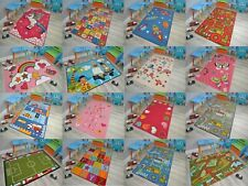 Kids Mat Rug Playroom Machine Washable Non Slip Safety Nursery Children