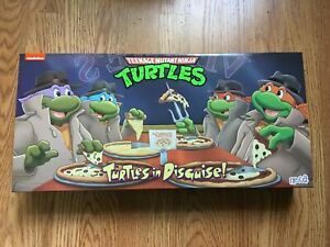 NECA TMNT Turtles In Disguise Figure 4 Pack Set Target Exclusive New SEALED RARE