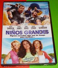 NIÑOS GRANDES / GROWN UPS - English Italiano Español DVD R2 Precintada