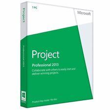 Program Microsoft Project 2013 Professional Polish 32/64-bit Medialess