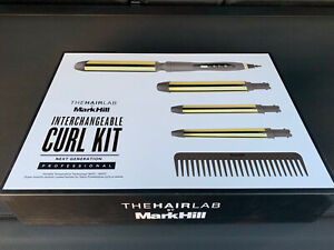 The Hair Lab by Mark Hill Interchangeable Curl Kit/Curling Tongs New Quick Post