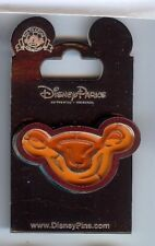 Disney Parks Exclusive MIKCEY MOUSE ICON HEAD BALL GAME PUZZLE ORANGE PIN NOC