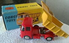 CORGI TOYS E.R.F. MODEL 64G EARTH DUMPER n.458 NMINT IN BOX