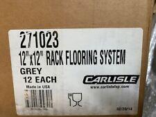"(Case of 12) Carlisle 271023 Floor Rack System 12"" x 12"""
