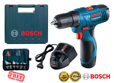 BOSCH GSR1080-2-Li 10.8V 1.5Ah Li-Ion Cordless Drill Driver Kit Carrying Case