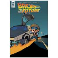 Back to the Future (2015 series) #13 SUB cover in NM condition. IDW comics [*lm]
