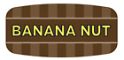 """Banana Nut Food Labels 1000 per Roll Food Store Flavor Stickers .625"""" X 1.25"""