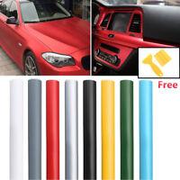 50x150 Matte Flat Car Vinyl Film Wrap Car DIY Sticker Decal Bubble Air Release