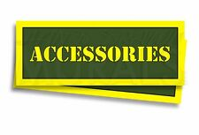 """ACCESSORIES Ammo Can Labels Ammunition Case 3"""" x 1"""" sticker decals 2 PACK -AG"""