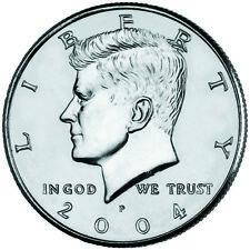 2004 KENNEDY HALF DOLLAR Set P&D (2 COIN SET) GEM Quality No S/H #3080