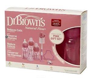 Dr. Brown's Wide Neck Bottle Gift Set Pink