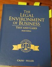 The Legal Environment of Business- Text and Cases, 9th Edition, Cross and Miller