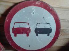 Attention Road Street Traffic Highway Interstate metal SIGN vintage USSR