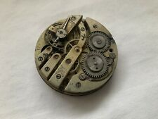 Movement For Parts Vintage Pocket Watch