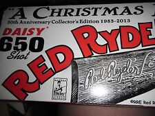 """30th ANNIV.NUMBERED RED RYDER, """"A CHRISTMAS STORY"""" BB gun, RARE. ONLY 2500 MADE."""