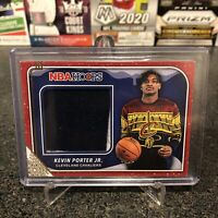 2019-20 NBA Hoops Winter Kevin Porter Jr Rookie Sweater Patch Relic Rockets