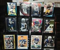 Chargers RC rookie auto Prizm Chrome lot Manti Te'o Jacob Hester Dylan Cantrell