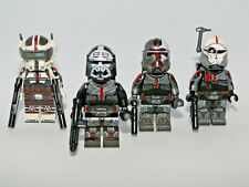 4x CUSTOM Bad Batch figures Star Wars™ Clone Force 99 not LEGO Excellent quality