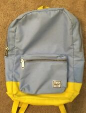 Herschel Supply Co Madewell Baby Blue & Yellow Backpack