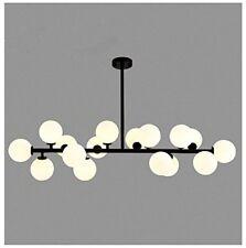 Modern Chandelier 16 Round Glasses LED Ceiling Light Pendant With G4 LED Bulbs